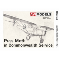 Puss Moth in Commonwealth Service (1:72)