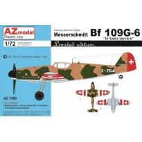 """Messerschmitt Bf 109G-6 """"In Swiss Service"""" (1:72)"""