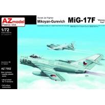 "Mikoyan-Gurevich MiG-17F ""Warsaw Pact"" (1:72)"