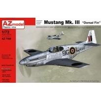 "Mustang Mk.III ""Dorsal fin"" (1:72)"