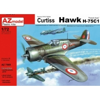 "Curtiss Hawk H-75C1 ""French Aces"" (1:72)"