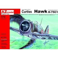 "Curtiss Hawk H-75C1 ""Czechoslovak Aces"" (1:72)"