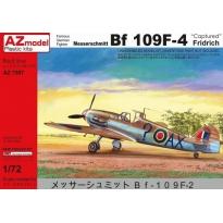 """Messerschmitt Bf-109F-4 """"Captured"""" (1:72)"""