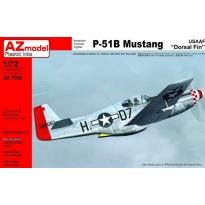 """P-51B Mustang USAAF """"Dorsal Fin"""" (1:72)"""