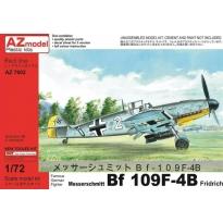 """Messerschmitt Bf 109F-4/B """"Fridrich"""" (1:72)"""