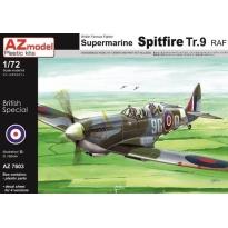 Supermarine Spitfire TR.9(1:72)