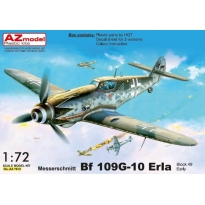 Messerschmitt Bf 109G-10 ERLA early, block 49XX (1:72)