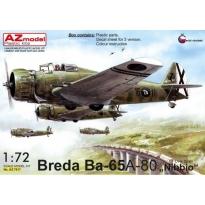 """Breda BA-65 A-80 """"Nibbio"""" Over Spain (1:72)"""