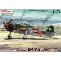 "Yokosuka D4Y5 ""Judy"" IJN Fighter (1:72)"