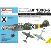 Bf 109G-6 Bulgarian Air Force (1:72)
