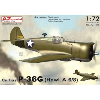 Curtiss P-36G (Hawk A-6/8) (1:72)