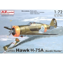 "Curtiss Hawk H-75A ""Nordic Hunter"" (1:72)"