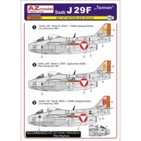 Saab J-29F Tunnan Austria AF decal (1:48)