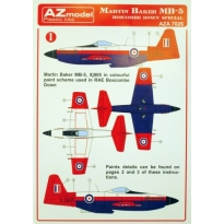"Martin Baker M.B.5 decal ""Boscombe Down"" (1:72)"