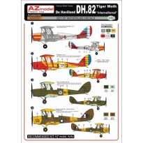 "DH-82 Tiger Moth ""International"" decal (1:72)"