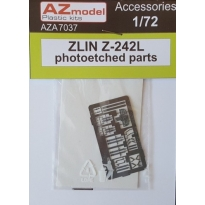 ZLIN Z-242L: elemety fototrawione (1:72)