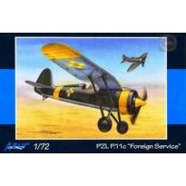 """PZL P.11c """"Foregin Service"""" (1:72)"""