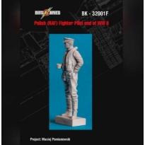 End of WWII Polish Pilot (RAF) figure (1:32)
