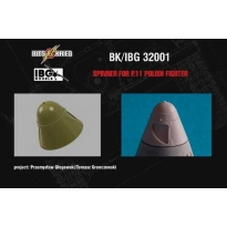 Spinner for PZL P.11c - Polish Fighter (fits IBG 32001) (1:32)