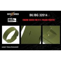 Engine cover for PZL P.11c (IBG 32001) (1:32)