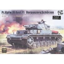 Pz.Kpfw.IV Ausf.F1 Vorpanzer&Schurzen (3 in 1) (1:35)