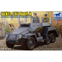 Sd.Kfz.247 Ausf. A German Armored Command Car (1:35)