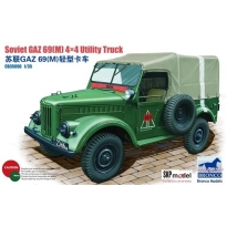 Soviet GAZ 69(M) 4X4 Utility Truck (1:35)