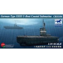 German Type XXIII U-Boat Coastal Submarine (1:35)