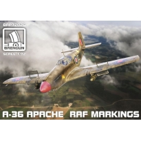 A-36 Apache RAF markings (1:72)