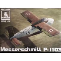 Me P1103 rocket fighter (1:72)