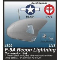 F-5A Recon Lightning Conversion set (1:48)