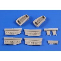 Beaufighter TF Mk.X Main Undercarriage Bays Correction (1:72)