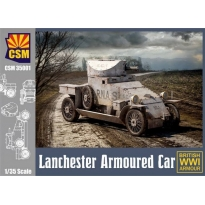 Lanchester Armoured Car (1:35)
