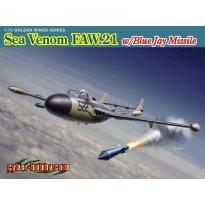 Sea Venom FAW.21 w/Blue Jay Missile (1:72)