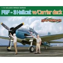 F6F-3 Hellcat w/Flight Deck (1:72)