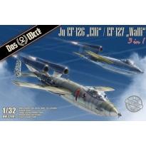 """Ju EF-126 """"Elli"""" / EF-127 """"Walli"""" (3 in 1) (1:32)"""