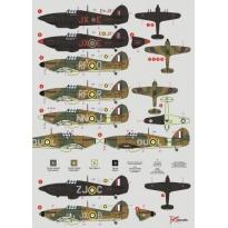 Hawker Hurricane československých pilotů (1:48)