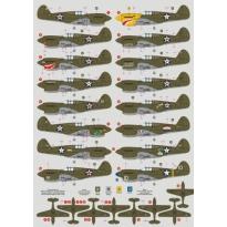 P-40E over Philippines, Java and Australia (1:72)
