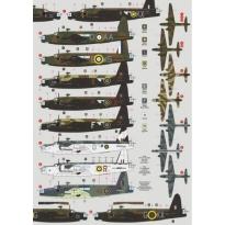 Vickers Wellington in RAF Service Part 2 (Mk.Ic/Mk.VIII/C Mk.XVI) (1:72)