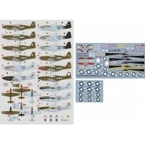 23rd FG P-51A/B/C & F-6C Mustang (1:72)