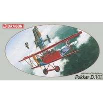 Fokker D.VII (Knights of the Sky Collection) (1:48)