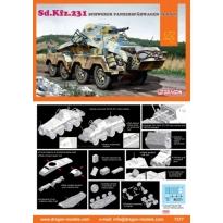 Sd.Kfz.231 schwerer Panzerspahwagen (8-RAD)(1:72)