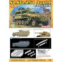 Sd.Kfz.251/7 Ausf.C Pionierpanzerwagen (2 in 1) (1:72)