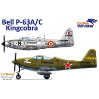 Bell P-63A/C Kingcobra (2 in 1)  (1:144)