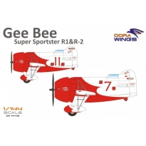 Dora Wings 144002 Gee Bee Super Sportster R1 & R2 (2 in 1) (1:144)