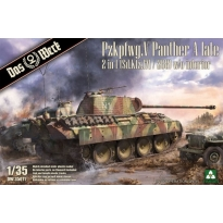 PzKpfwg.V Panther A late 2 in 1 (Sd.Kfz.171/268) w/o Interior (1:35)