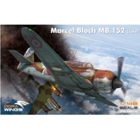 Dora Wings 48019 Marcel Bloch MB.152 (late) (1:48)