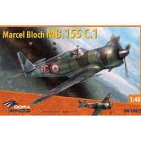 Dora Wings 48021 Marcel Bloch MB.155 C.1 (1:48)