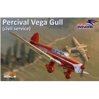 Percival Vega Gull (civil service) (1:72)