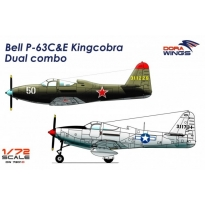 Bell P-63C&E Kingcobra Dual combo (2 in 1) (1:72)